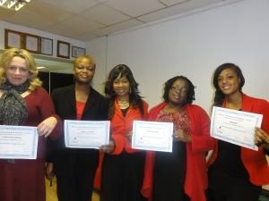 Trained students at World of Braiding